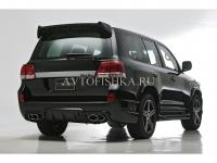 Toyota LAND CRUISER 200 (07-11) Расширители арок WALD BLACK BISON (комплект, 8 частей)